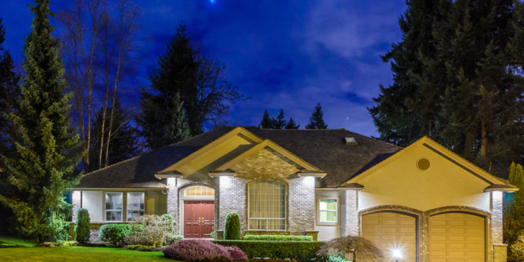 Include Spotlights and Landscape Lighting in Your Outdoor Living Space
